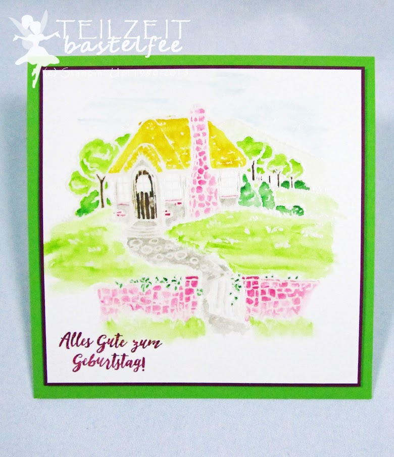 Stampin' Up! - Landhaus-Idylle, Geburtstag, Birthday, Cozy Cottage