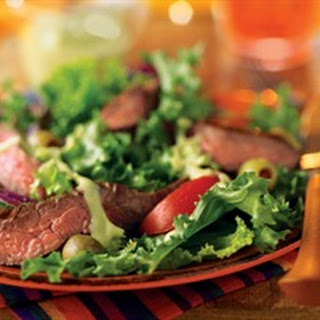 Grilled Skirt Steak Salad