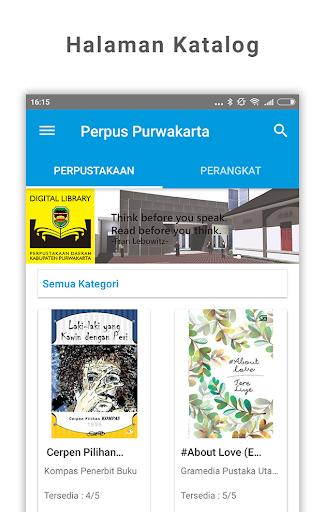 e-Perpus Purwakarta 1.2.1 screenshots 1
