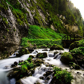 The enchanted Valley. by Mattia Bonavida - Landscapes Waterscapes ( amazing, water, scape, nature, fall, nikon, landscape, place, italy, photography )