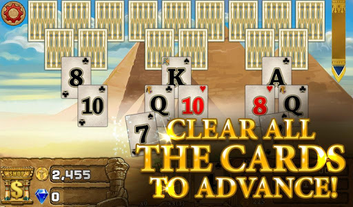 3 Pyramid Tripeaks Solitaire - Free Card Game apkmr screenshots 2