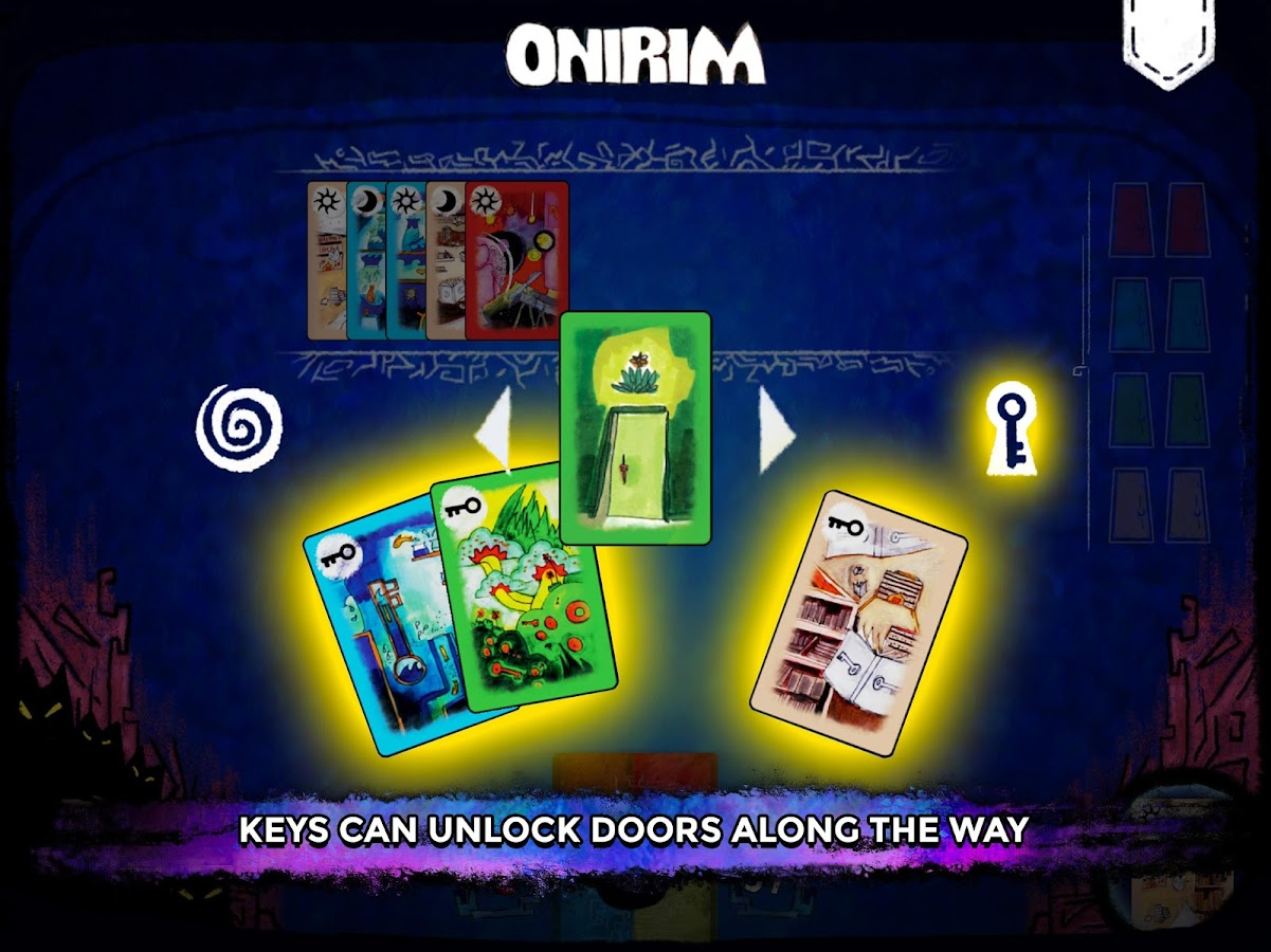 Onirim - Solitaire Card Game- screenshot