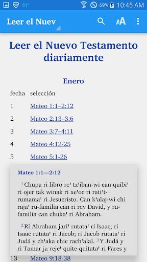 Kaqchikel Sacatepu00e9quez - Bible  screenshots 5