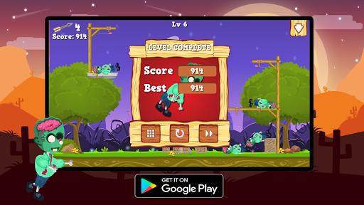 Télécharger Gratuit Save Zombie : Bow Master apk mod screenshots 3