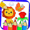 Drawing and Coloring Book Game icon