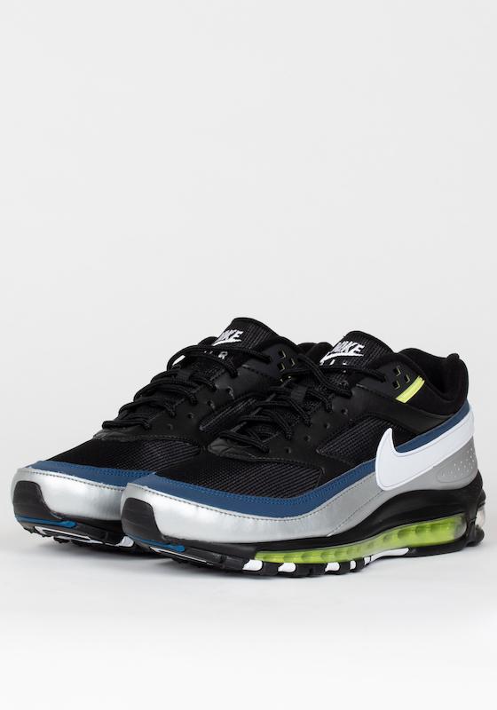 2074bd686b75 Nike Air Max 97 BW - Black White Silver