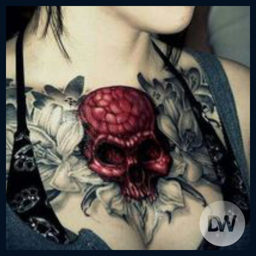 Skull Tattoos Ideas 遊戲 App LOGO-硬是要APP