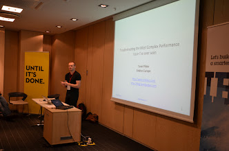 Photo: Tanel Poder shared his experience