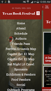 Texas Book Festival- screenshot thumbnail