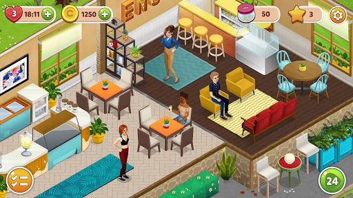 Fancy Cafe - Decorating & Restaurant games screenshot 7