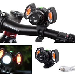 Lampa LED ultra puternica pentru biciclete