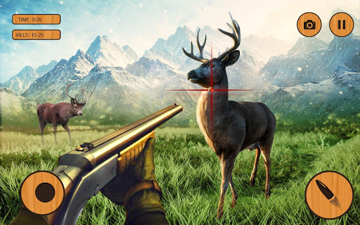 Télécharger Gratuit Extreme Wild Animals Hunter:Best Shooting Game  APK MOD (Astuce) screenshots 1