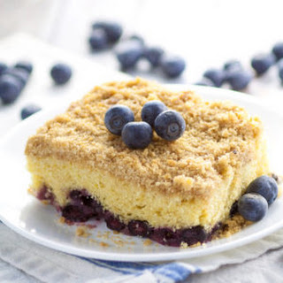 Classic Blueberry Buckle