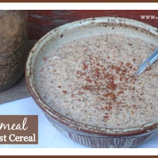 No-Oatmeal Hot Breakfast Cereal.