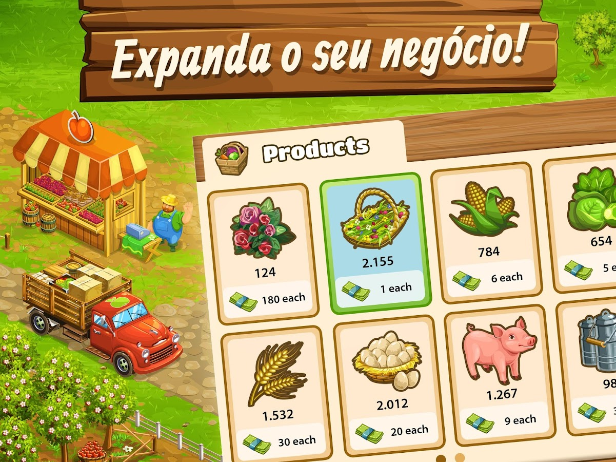 Big Farm: Mobile Harvest: captura de tela
