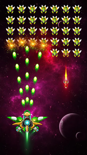 Space Shooter: Les Envahisseurs Extraterrestres fond d'écran 1