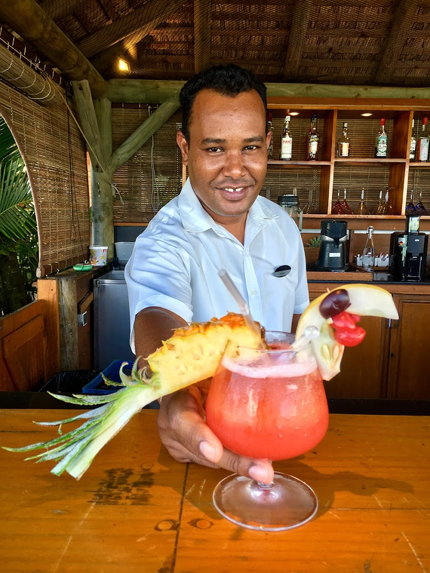 One&Only Le Saint Géran bar manager and rum expert Oliver Ramtohul presents his Dodo cocktail