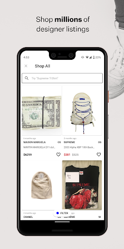 Grailed: Buy & Sell Men's Clothing - screenshot