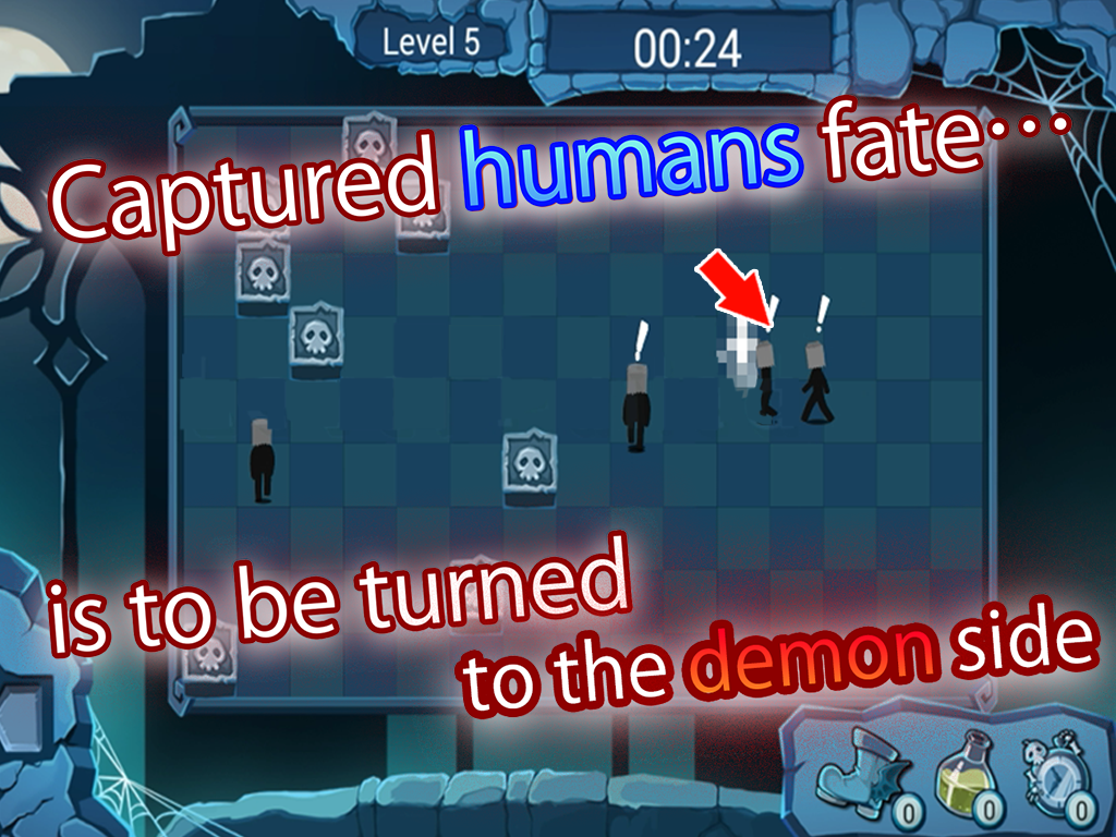 Bone Dead Mansion – demon tag- screenshot