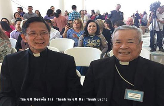 ĐTC bổ nhiệm Cha Nguyễn Thái Thành, tân Giám Mục Phụ Tá Orange, Hoa Kỳ
