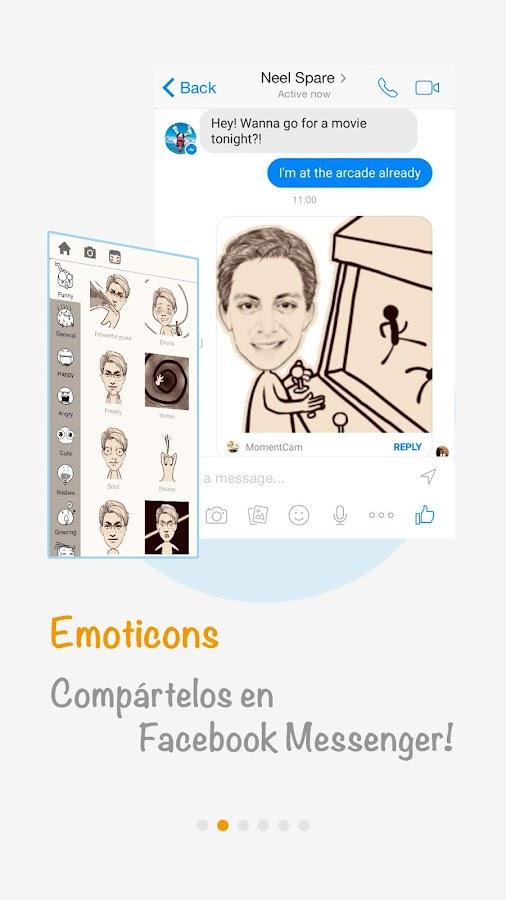 MomentCam - screenshot