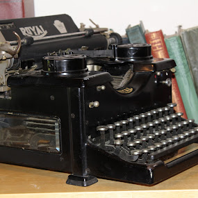 Royal by Terese Hale - Artistic Objects Antiques ( books, vintage, typewriter, royal, writing,  )