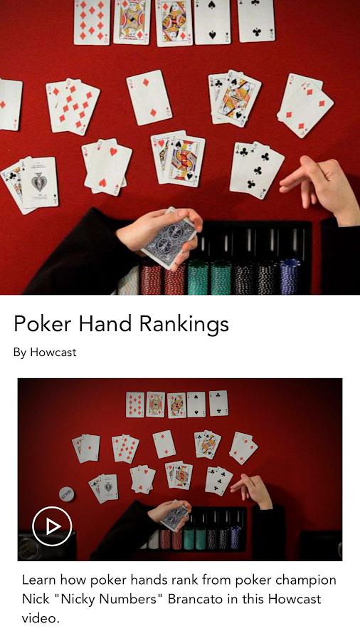 Poker lessons vegas