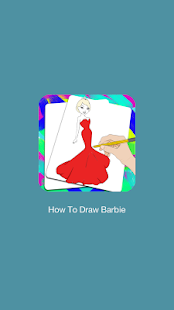 How To Draw Barbie - Step by Step - náhled