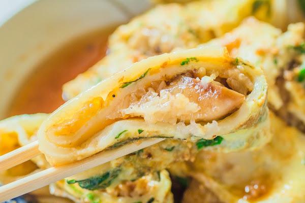 蛋餅王 x 一餐抵兩餐的肉粽蛋餅