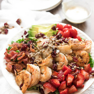 Chili Shrimp and Kale Salad With Honey Dijon Dressing