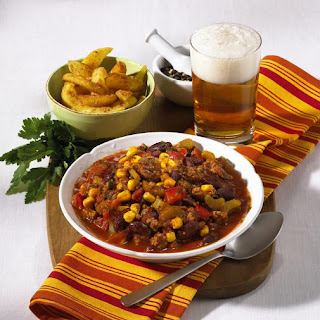 Quick and Easy Chili.