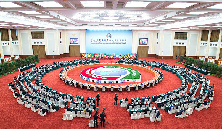The FOCAC Beijing Summit Round Table Meeting on September 4 2018.