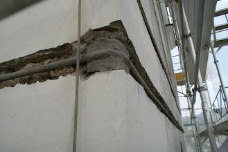 Photo: Rostschutzbehandlung der Verstärkungen am Turm
