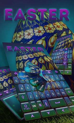 Easter GO Keyboard Theme