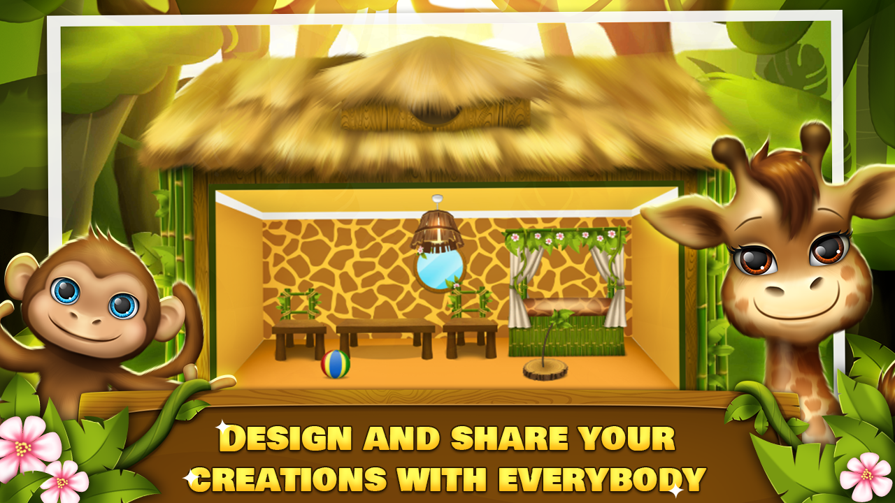 Jungle Decoration Jungle Animal House Decoration Android Apps On Google Play