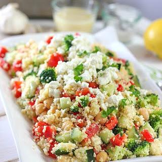 Crunchy Mediterranean Couscous Salad.