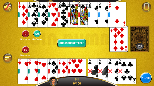 Gin Rummy  gameplay | by HackJr.Pw 5