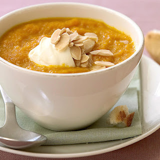 Carrot and Orange Soup.