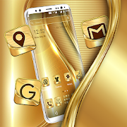 Golden Launcher Theme