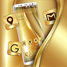 Golden Launcher Theme Download on Windows