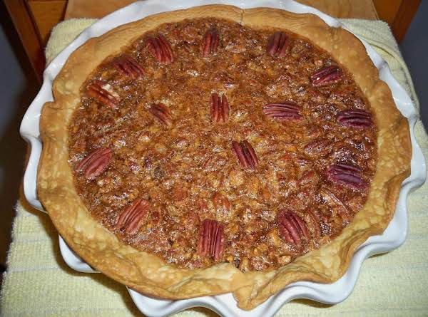 Chocolate Pecan Pie W/ Homemade Whipped Cream Recipe