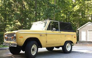 Ford Bronco Rent Florida