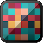 GEOMETRIC HD PATTERNS: Multi-colored Squares Icon
