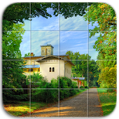 Tile Puzzle Peaceful Places
