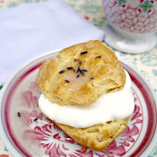 Lavender Cream Puffs