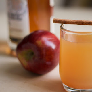 Warm Bourbon Apple Cider