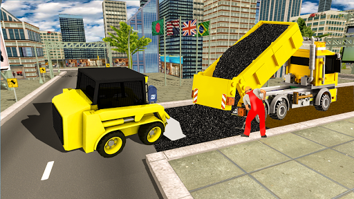 Grand City Road Construction Sim 2018 download 1