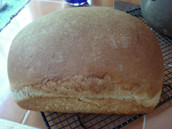 I use a bread machine to mix the ingredients. Warm the water, agave nectar or...