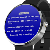 Watch Face BSOD