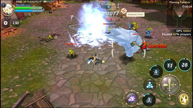 Dragon nest sea update: level 60 cap, new ex skills, new dungeons.